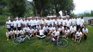 """Bensheimer in Schlanders auf der """"Tour de Riva 2017"""""""